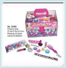 The most popular newest stawberry shape kids makeup toy