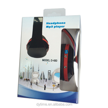 Ten years experience headpset factory good quality foldable bluetooth headphone for iphone 6