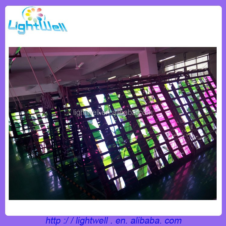 Lightwell p6 smd outdoor led display module 192*192mm