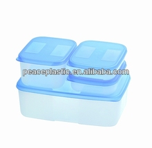 Commercial plastic food container
