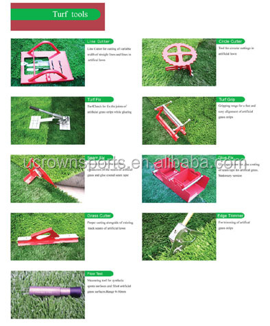 Turf tools for artificial grass installation