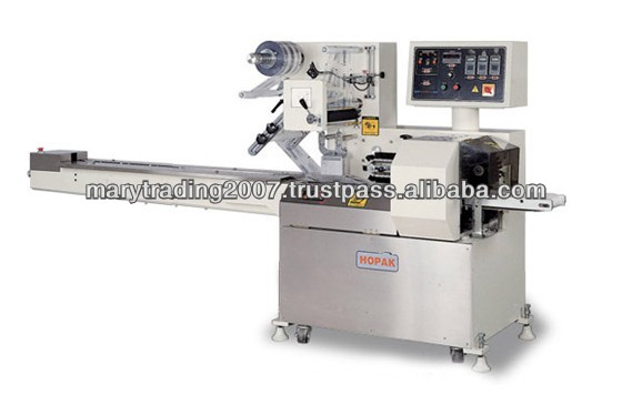 Stainless Steel High Speed Automatic Horizontal Flow Wrapper