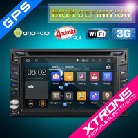 "Xtrons-TD626AS-6.2"" HD Multi-touch 1080P Wifi Double Din Android 4.4.4 Kitkat Quad-Core Car DVD Player /Screen Mirroring &OBD2"