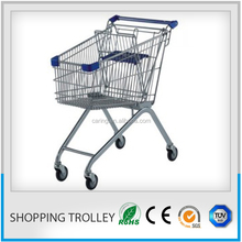 folding grocery cart/disabled trolley on wheels/motorized shopping carts