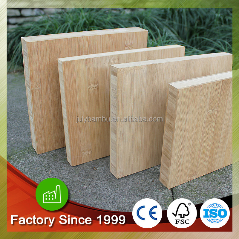 Best Price 3ply vertical carbonized bamboo panel 20mm