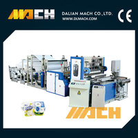 Fully Automatic Toilet Paper Roll And Kitchen Towel Paper Making Machine