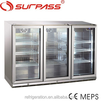 FG150LF Stainless Steel Refrigerated Back Bars with remote condensing unit