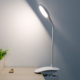 ABS Clip Adjustable Desk Lamp Rechargeable Cordless Table Lamp Led with Clamp