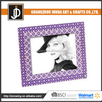 New Design Sex Girl Circle Style 3D Illusion Acrylic Photo Frame