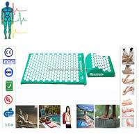 High Quality Acupressure Set, Mat and Pillow Neck/Back Massage with manufacturer