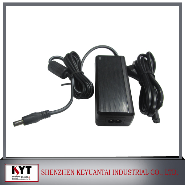 60W series CE,FCC,ROHS,KC 12V 24V power supply,power supply for CCTV camera/LCD