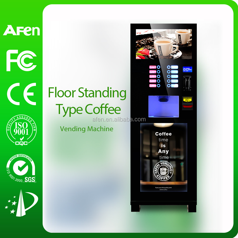 coin operated nescafe coffee vending machine