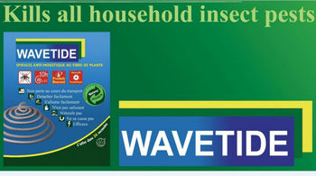 WAVETIDE PLANT FIBER MOSQUITO COIL