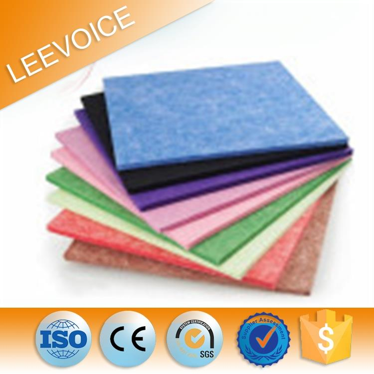 Polyester Mineral Fiber Acoustical Panel Suspended Ceiling Tiles