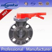 6 inch butterfly valve epdm seat butterfly valve with gear type handle