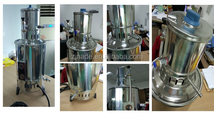 Nade Lab distilled water machine YA.ZD-20 Stainless Steel Water Distiller 20L/H