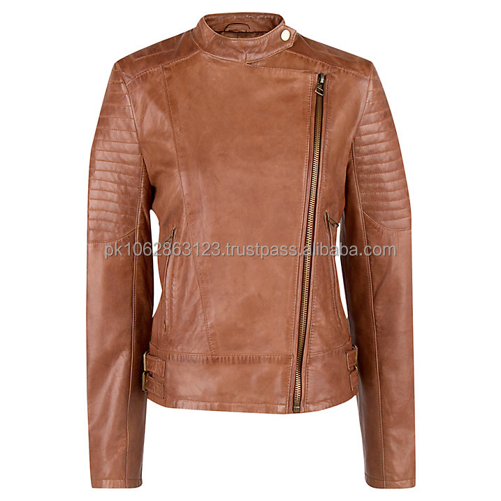 made in Bangladesh leather jacket/ladies leather jacket for winter