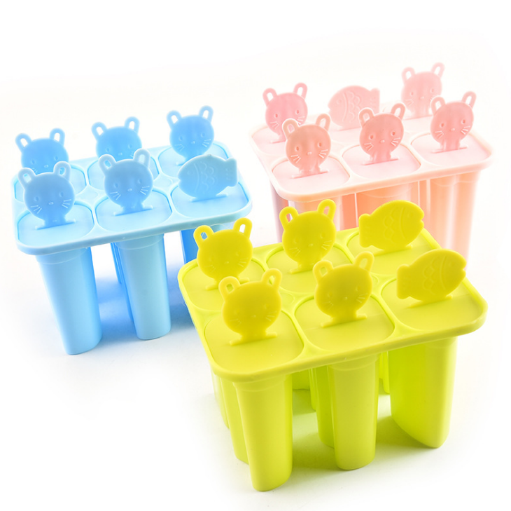 Promotional Amazon Sell baby animal item shape mini ice popsicle mold