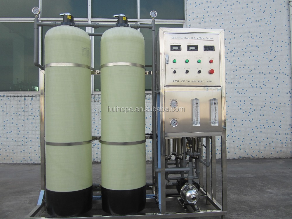 500L Full automatic mineral drinking reverse osmosis water purifier machine