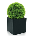 25CM Faux Topiary Ball Grass Effect