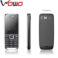 1.8' QVGA screen dual sim dual standby quad band mobile phone E52 MP3 MP4 Bluetooth FM
