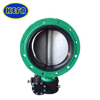 KEFA API609 Electric double flanged butterfly valve DN50/DN65/DN80/DN100
