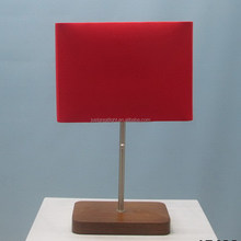 Latest design handmade white table lamp duo