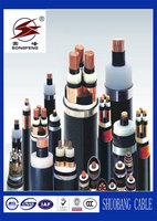 Copper Conductor PVC/XLPE insulation 5 core 400mm power cable