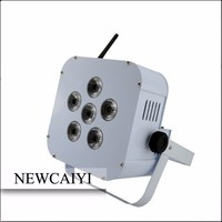 6*15W 5 in 1 RGBWA battery powered lighting store