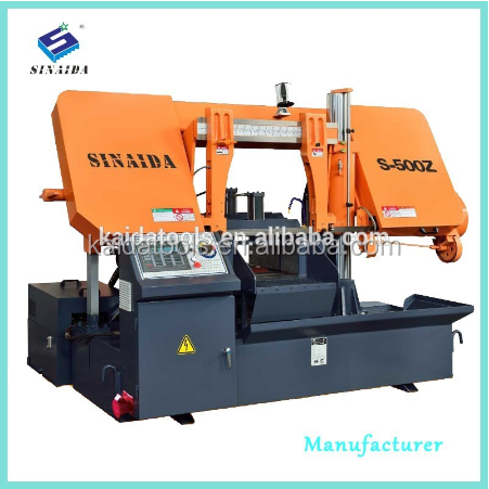 SINAIDA Band saw Metal Cutting Machine Tools for 500mm Automatic metal cutting machine CNC machine manufacturer machine price