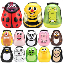 New product China suppliers 2017 3D School bag kids backpack waterproof cartoon Children's trolley school bags of latest design