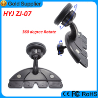 Easy to use adjusting CD slot magnetic phone holder car