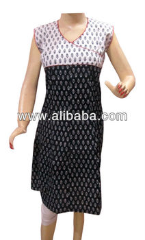 Black & White Kurta, Indian Kurtis Supplier, Handmade Kurtis Wholesaler, Cotton Kurtis Manufacturer, Designer Kurtis Manufacture