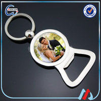 promotional popular bullet bottle opener key chain