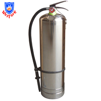 9ltr water stainless steel fire extinguisher