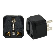 Top quality portable universal to thailand plug adapter thailand travel plug adapter universal to usa plug factory price