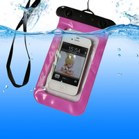 waterproof case bag for samsung galaxy s4 mini With Neck Strap for Underwater Swimming/Sports