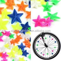 BICYCLE SPOKE BEADS BICYCLE SPOKE BEADS 36 MULTI COLOR SPOKE BEADS CRUISER