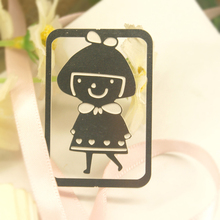 2014 the best quality and good looking small girl bookmark
