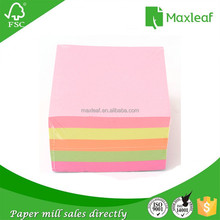 90*90*90mm <span class=keywords><strong>de</strong></span> color fluorescente <span class=keywords><strong>papel</strong></span> <span class=keywords><strong>cubo</strong></span> nota