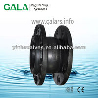 single sphere flexible rubber joint flange
