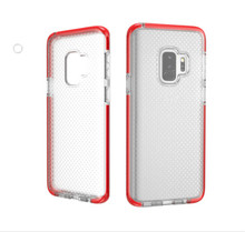 Shock proof mesh back phone cover for Samsung galaxy note 8 case