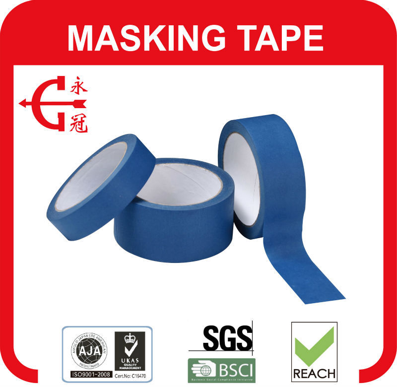 great quality pressure sensitive rice paper masking tape on sale