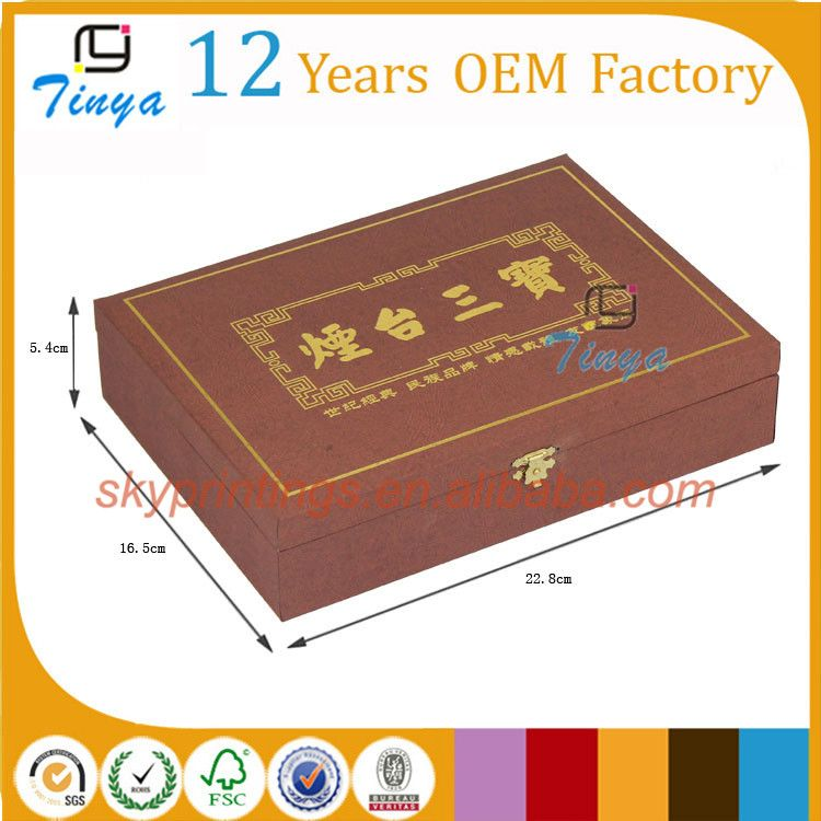 clock packaging boxes with lock for gift trade assurance