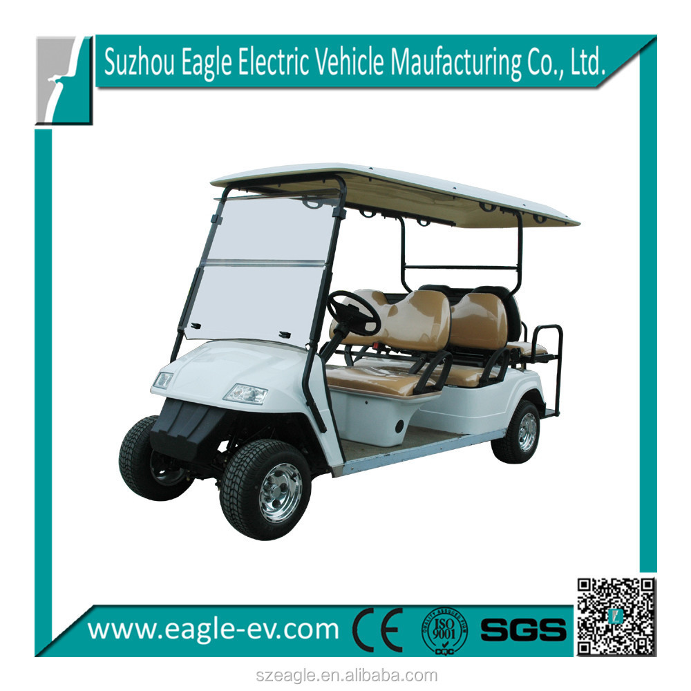 golf car uae china supplier ce approved for 6 person, CE approved, best quality
