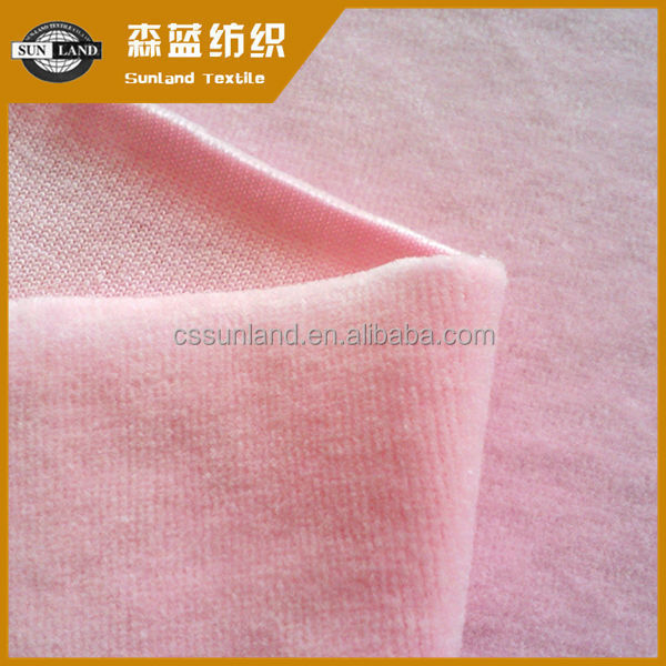 Supply of home textile flannelette High-end home - CVC80/20 plain velvet fabrics