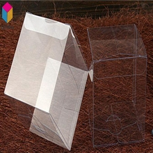 Printing Folding Plastic Clear PVC PET Storage Gift Favor Packing Box
