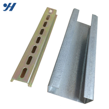 Hot Sell Perforated Hot Dip c channel purlins specification