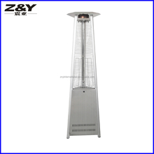 Freestanding Stainless steel Triangle pyramid patio heater