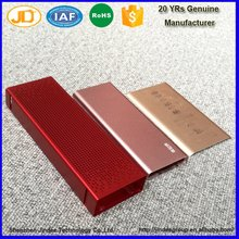 China Factory OEM Service Aluminum Extruded Enclosure Aluminum Battery Box for Power Bank Housing Use